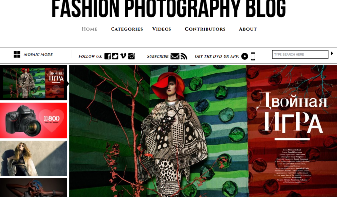 Fashion Photography Blog