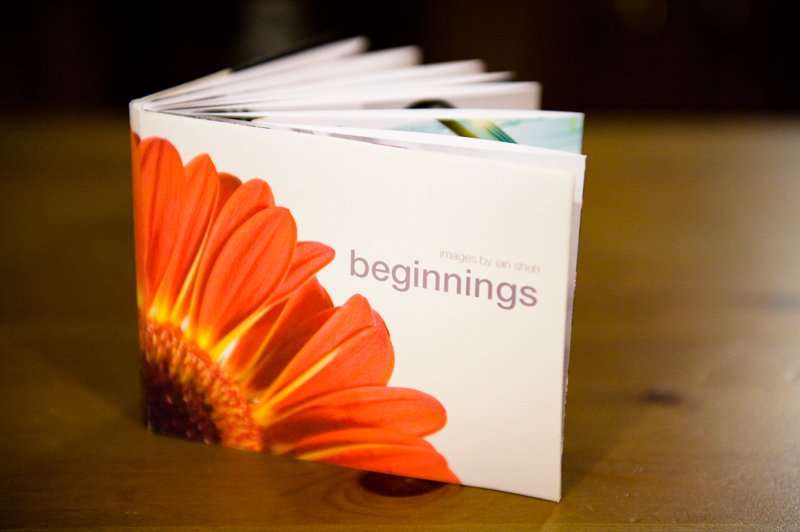 beginnings book - front