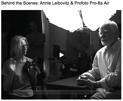 Annie Leibovitz & Profoto
