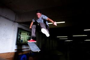 Chase Jarvis skateboarder