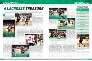 Ian Sheh - Ontario Lacrosse Magazine Mann Cup Vancouver