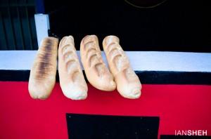 Ian Sheh - four baguettes