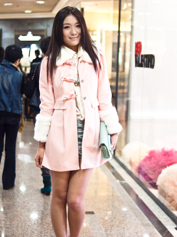 street style: time square, hong kong