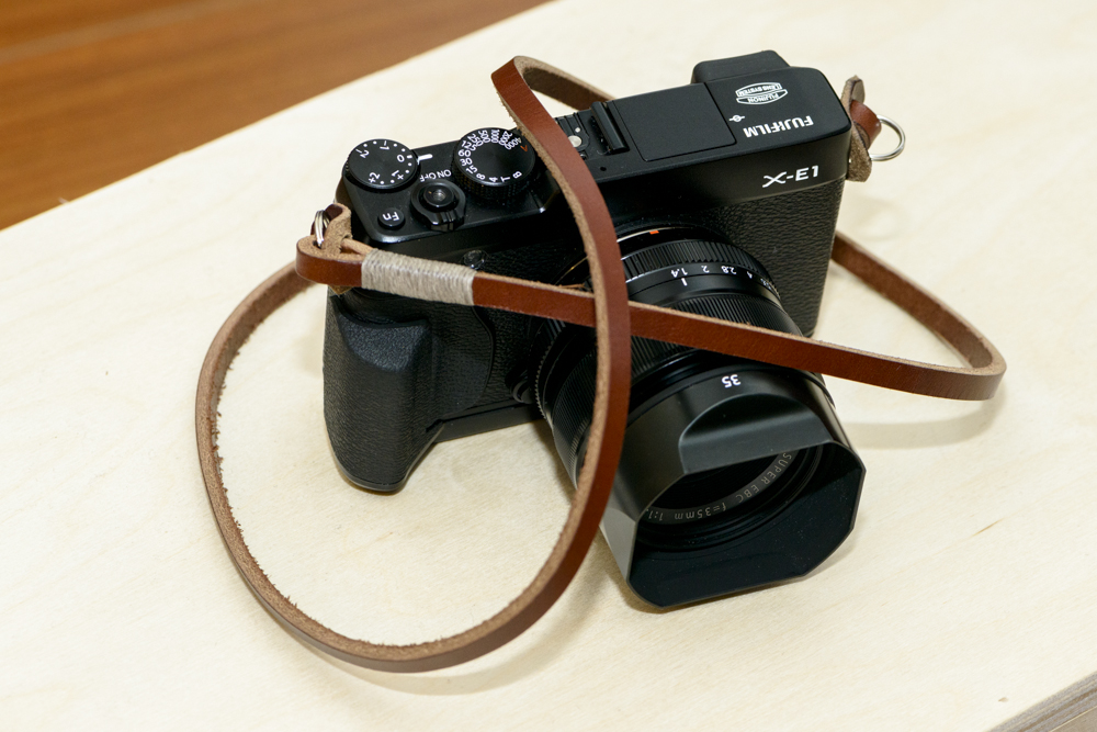 Fuji X-E1  | Fujinon 35mm f/1.4 | Fuji HG-XE1 Hand Grip | Gordy's Camera Strap in brown