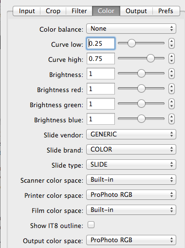 Vuescan profile   How do I install a scanner color profile for use