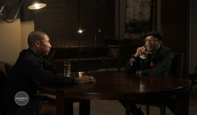 ARTIST TLK: Pharrell Williams & Spike Lee